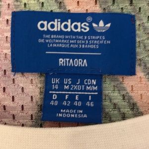 adidas Tops - ADIDAS X RITA ORA MESH DRAGON JERSEY TANK TOP